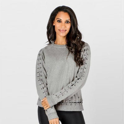 Savage Top-long-sleeve-Grey Heather-XS-long-sleeve-Indira Active