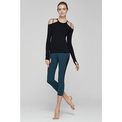 Strappy Yoga Ballet-long-sleeve-long-sleeve-Indira Active
