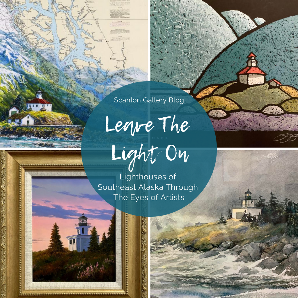 Lighthouses of Southeast Alaska Through The Eyes of Artists