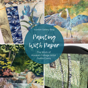 Painting With Paper: In The Studio of Guitta Corey