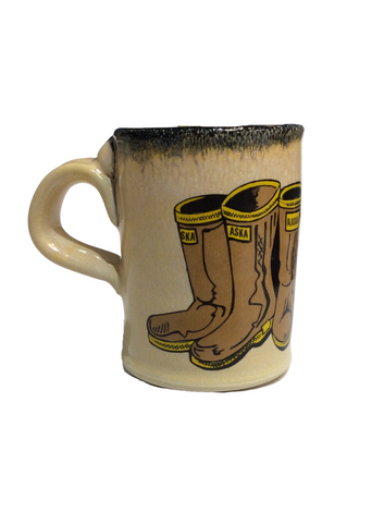 Mugs and Steins by Tom's Pots