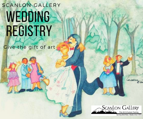 Wedding Registry at Scanlon Gallery