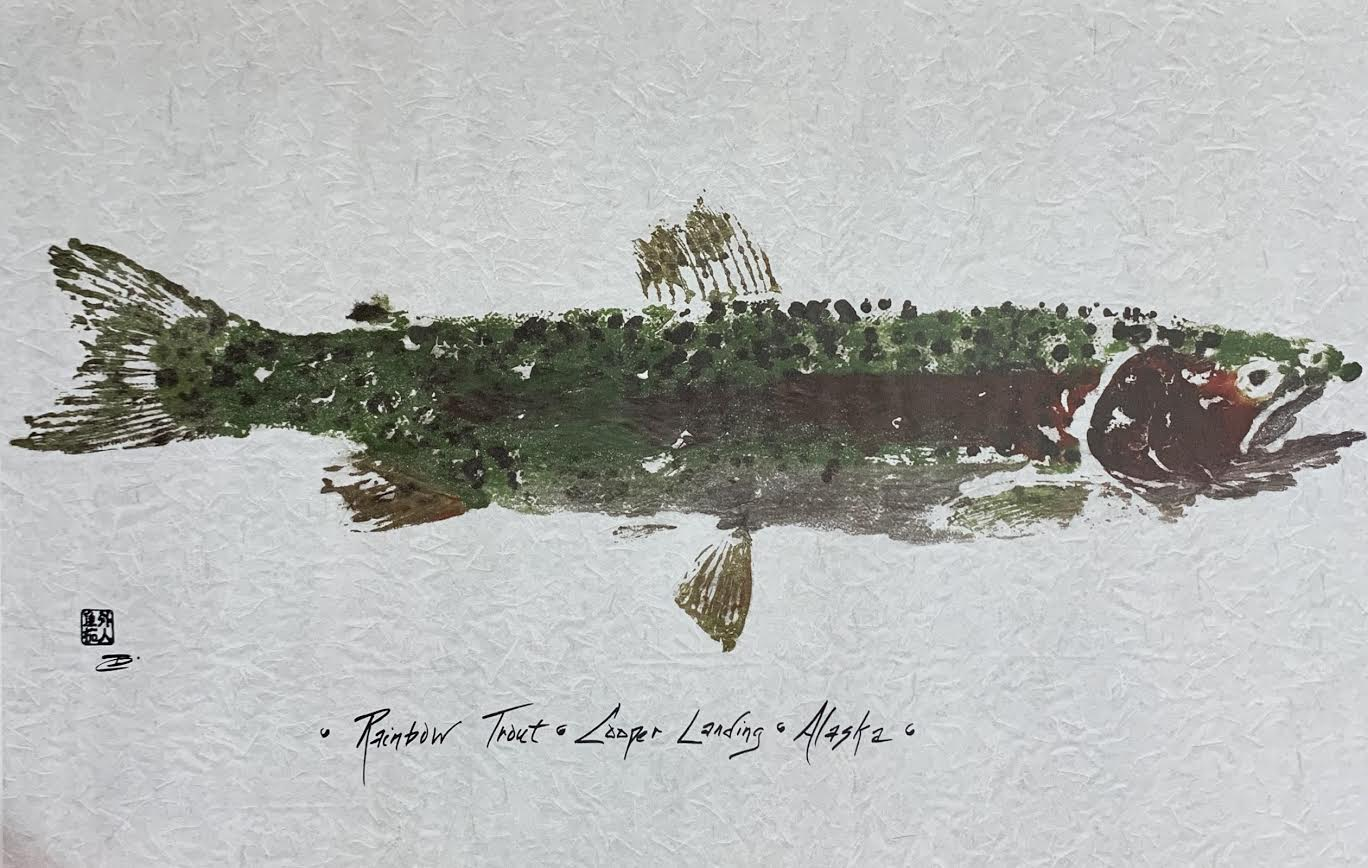 RAINBOW TROUT GYOTAKU