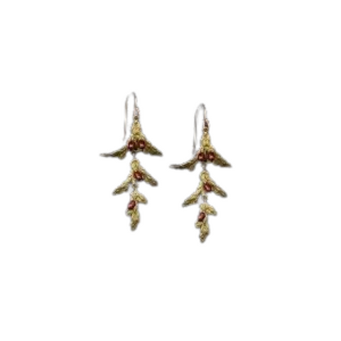 HOLIDAY ARBOR WIRE EARRINGS