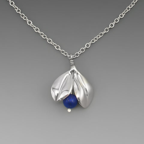 BLUEBERRY LAPIS PENDANT