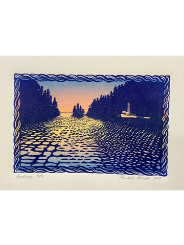 ANCHORAGE RELIEF PRINT