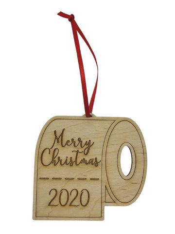 MERRY CHRISTMAS TP ORNAMENT 2020