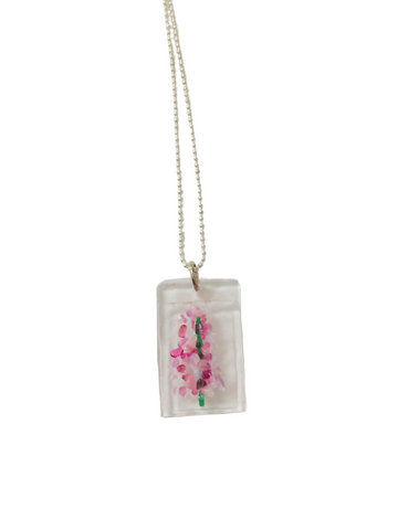 FIREWEED NECKLACE BALL CHAIN