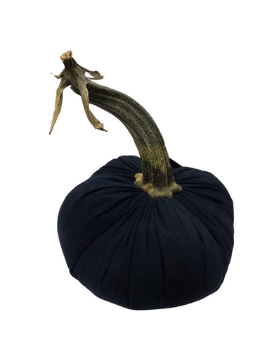 "8"" DENIM PUMPKIN"