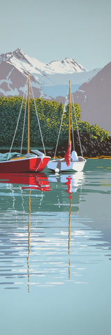 SAILBOATS IN PARADISE COVE 88/182