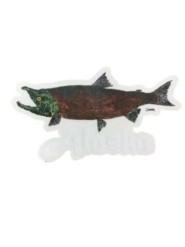 SALMON WITH ALASKA TRANSPARENT BACKGROUND