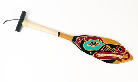 WOLF SMALL HAND DANCE PADDLE