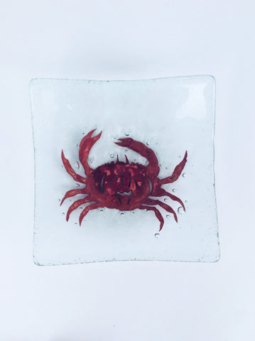 "6"" SQUARE CRAB BOWL"