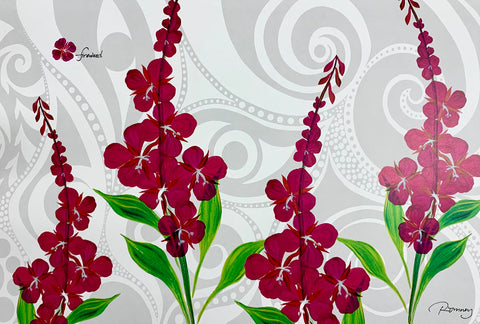 FIREWEED ROMNEY ART CARD
