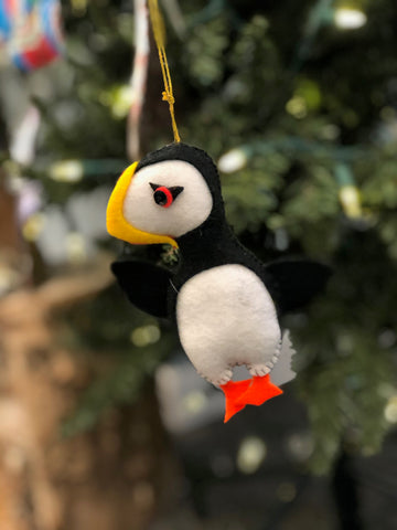 PUFFIN ORNAMENT