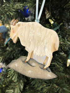 MOUNTAIN GOAT ORNAMNET