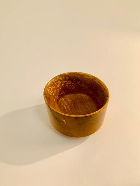 NARROW BASED ALDER BOWL