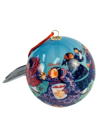BERRY PICKER ORNAMENT
