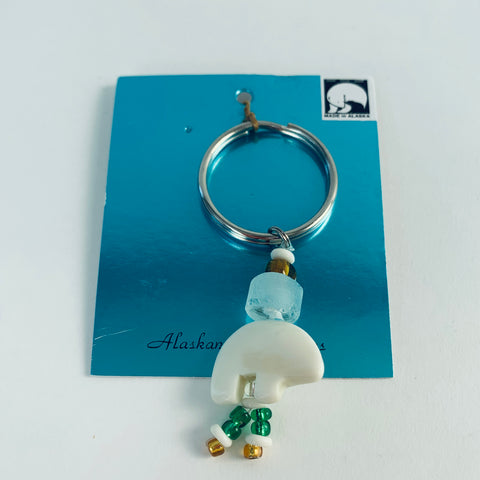 ZUNI BEAR KEY RING