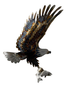 LARGE EAGLE WITH FISH
