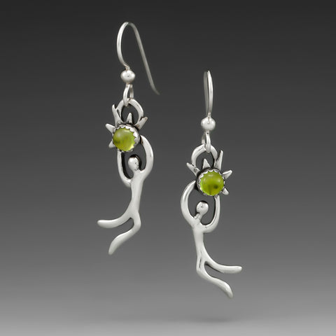 PERIDOT CELEBRATE HOOK EARRINGS