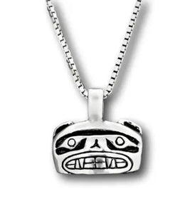 BEAR FACE NECKLACE LARGE