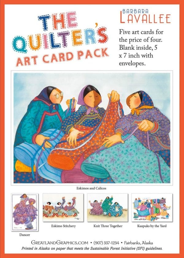 QUILTER'S ART CARD 5 PACK