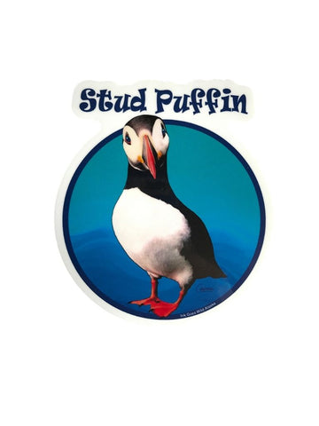 STUD PUFFIN STICKER