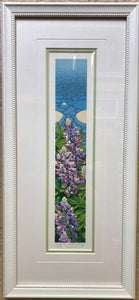 LUPINE AT WATER'S EDGE FRAMED