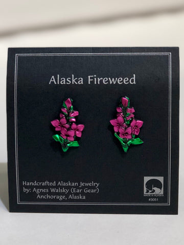 FIREWEED POST EARRINGS