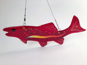 HANGING RED FISH