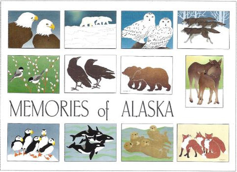 MEMORIES OF ALASKA ASSORTED CARD SET