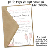 Bridesmaids Brunch Party Invitation