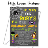 Halloween Personalized Invitation - All Party Types