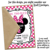 Minnie Chic Custom Party Invitation
