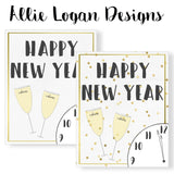 New Year's / January Monthly 8x10 Printable