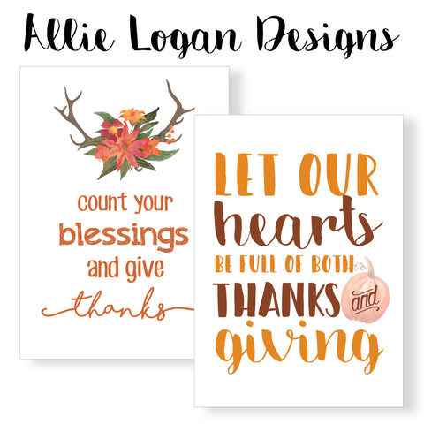 Thanksgiving / November Monthly 8x10 Printable