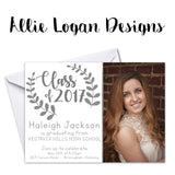 Greenery Graduation Announcement