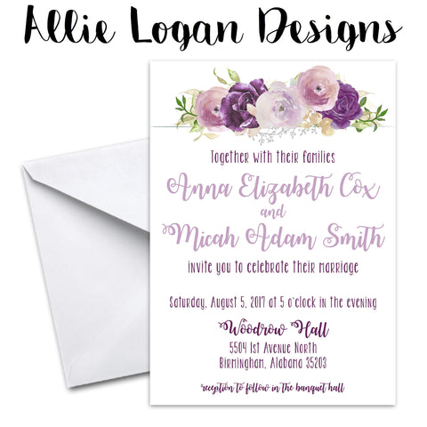 Wedding Invitations - The Ashlynn Collection
