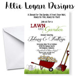 Couples' Lawn & Garden Wedding Shower Invitations
