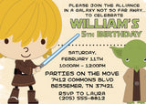 Star Wars - Inspired Jedi Training Invitation