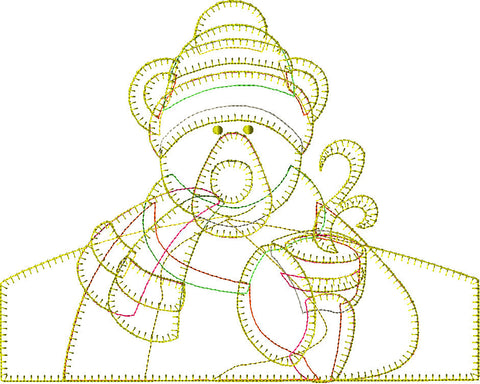 Polar Bear Embroidery File