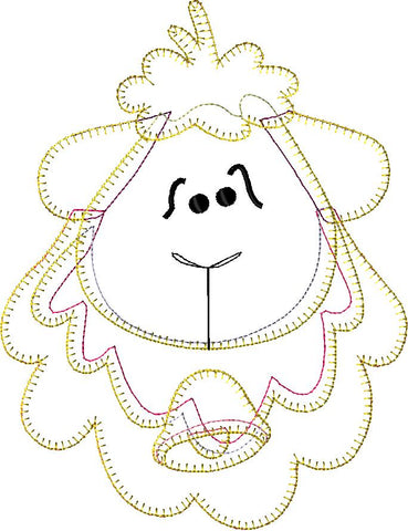 Sheep Embroidery File