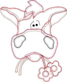 Cow Patternlet Embroidery File