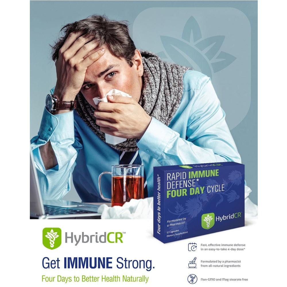 HybridCR Get Immune Strong. Four Days to Better Health Naturally