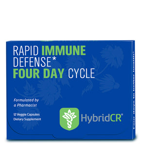 HybridCR Rapid Immune Defense-Pharmacist Formulated All Natural Dose Pack