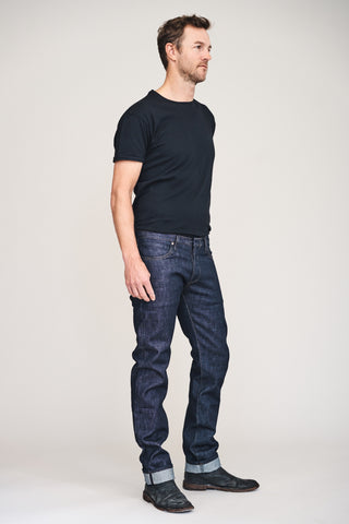 SLIM TIM 14.75oz Raw Indigo