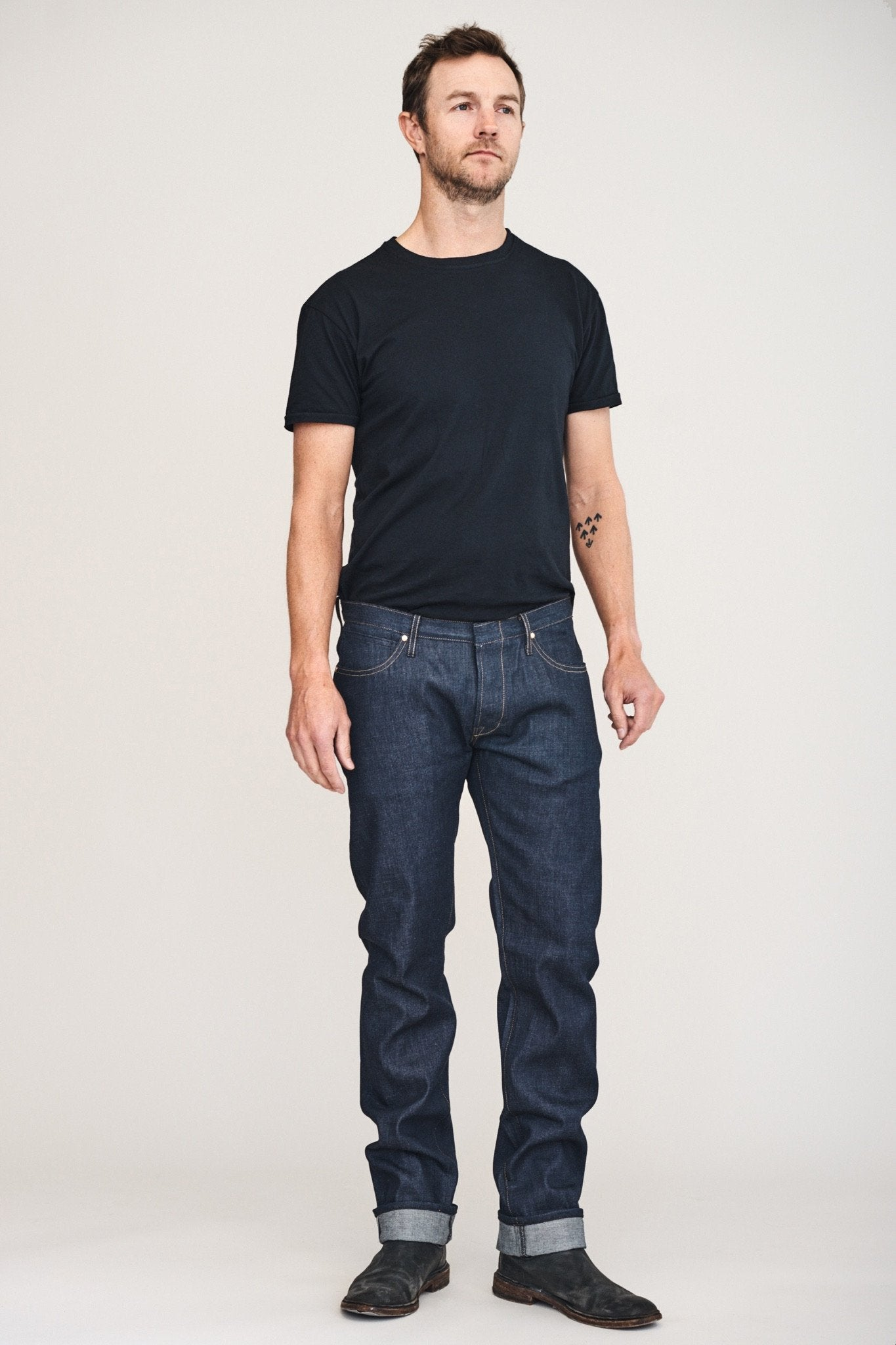BLKSMTH Slim Tim 13.75 oz Indigo Selvedge
