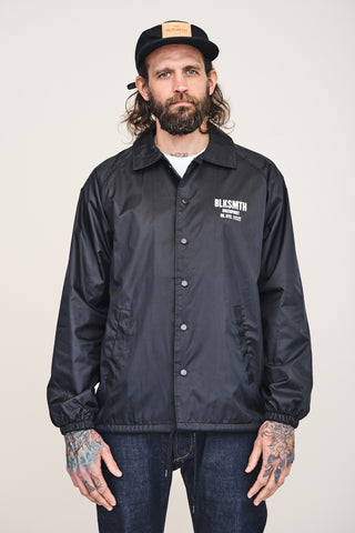 BLKSMTH 1892 Coach Jacket, BLACK