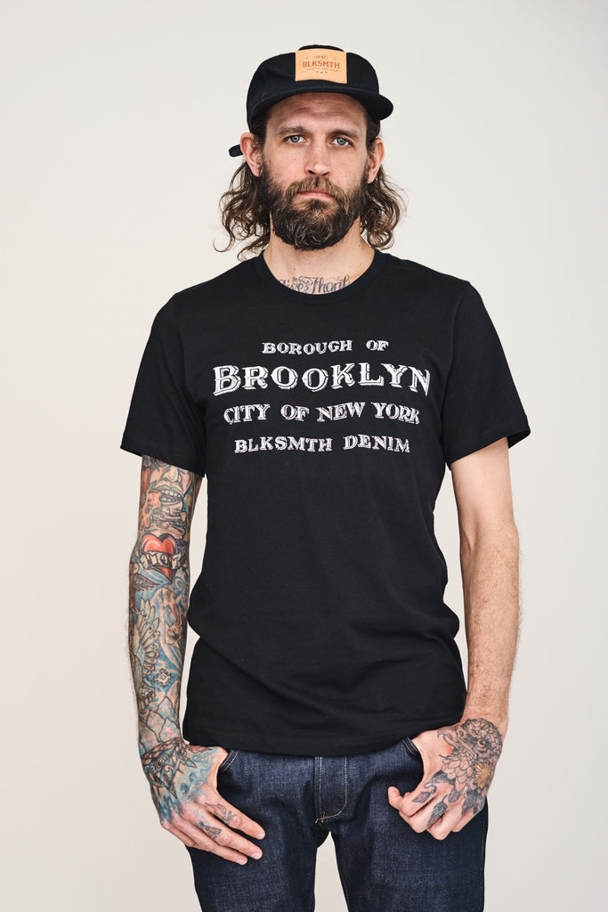 T-SHIRT Borough of BK, Black
